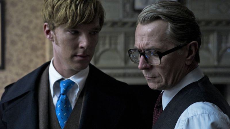 Illustration for article titled BAFTA nominations confirm that British people rather enjoyed Tinker Tailor Soldier Spy