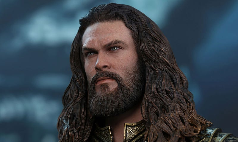 Illustration for article titled New Aquaman Toy Is A Little Jason Momoa Clone