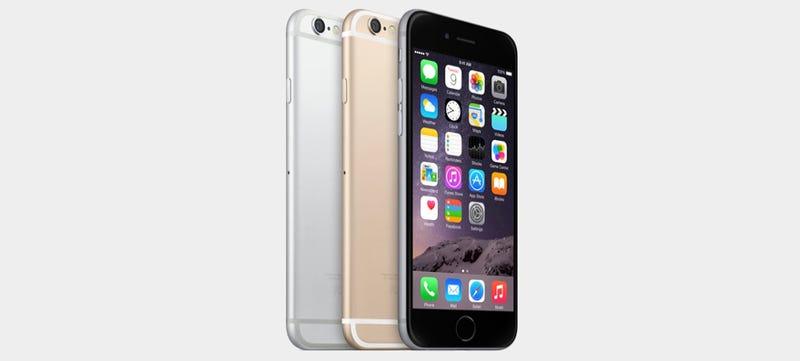 Illustration for article titled Este es el iPhone 6: Apple se rinde a las pantallas grandes