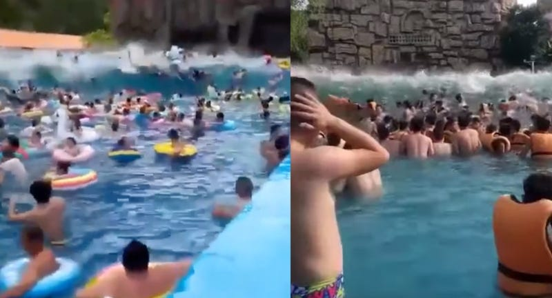 Illustration for article titled Wave Pool Transforms Into Tsunami Pool, Injures Over 40 People