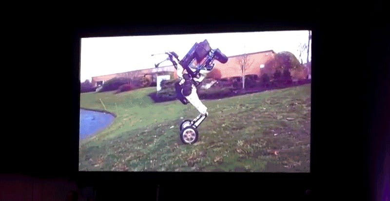 Leaked Video Reveals New Boston Dynamics Robot That Can Perform Amazing Stunts on Two Wheels