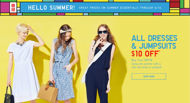 Free Shipping at Uniqlo, plus lots of deals