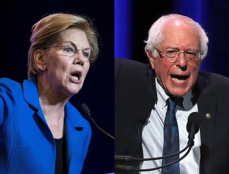 Illustration for article titled Sanders, Warren Devolve Into Screaming Match After Discovering Insurmountable Divide On Wildlife Management Policy