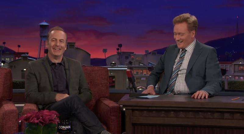 Bob Odenkirk, Conan O'Brien