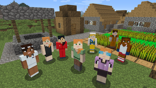 Illustration for article titled Minecraft Brings Woman Main Character To Consoles