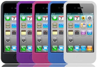 get this free silicone case to solve your iphone 4 antenna problem
