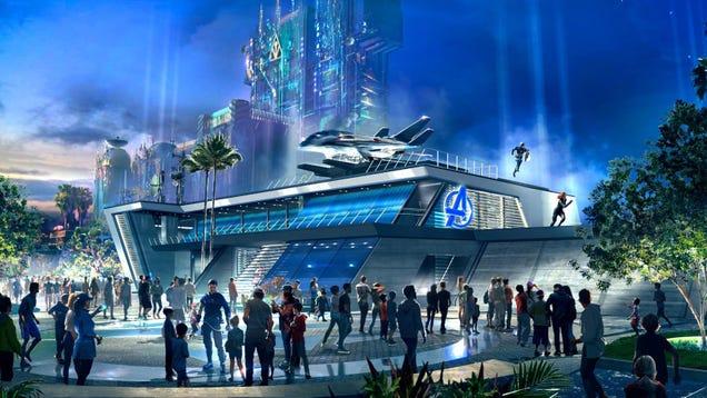 Disney s Avengers Campus Will Open in July (Unless It Doesn t)