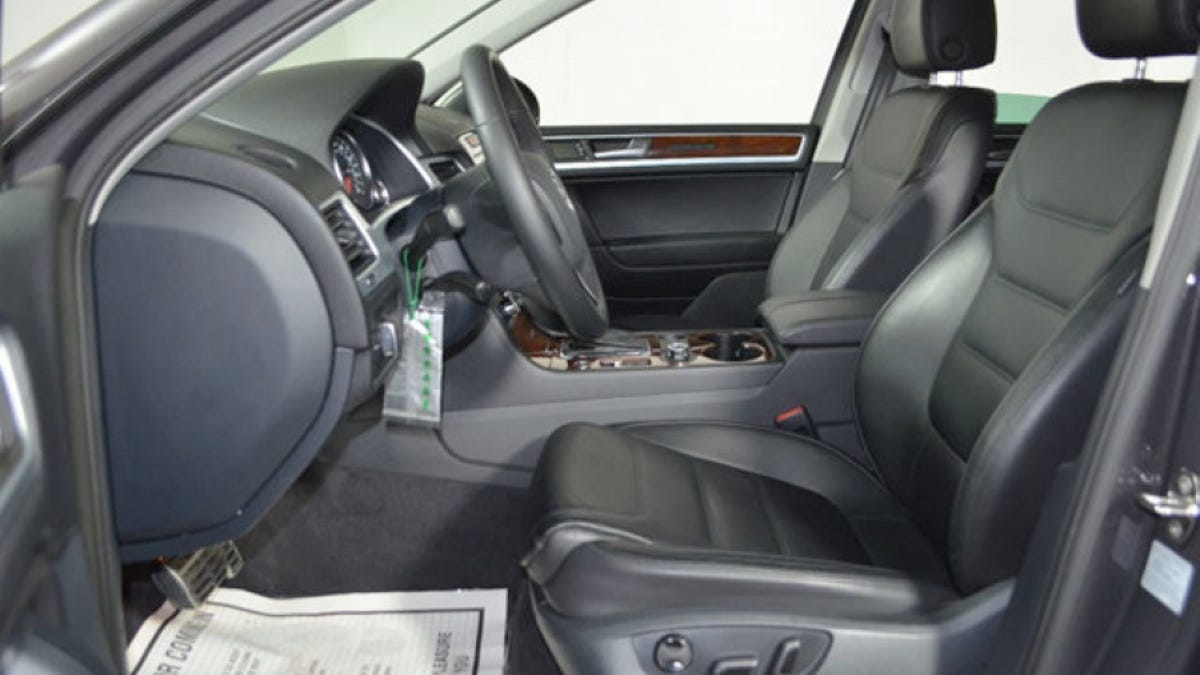 For $17,995, Would You Make Happy Memories In This 2011 VW Touareg