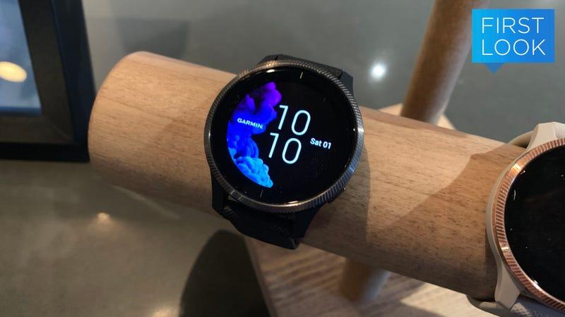The Venu is Garmin's first AMOLED smartwatch.