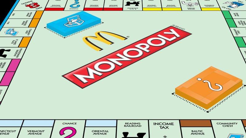 Illustration for article titled Así fue como estafaron más de 20 millones de dólares aMcDonald'sjugando al Monopoly