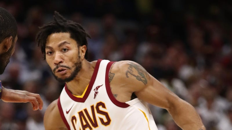 Derrick Rose Addressed Cavaliers Players Before Returning to Team