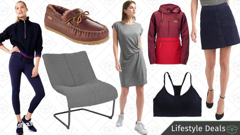 Illustration for article titled Wednesday's Best Lifestyle Deals: Office Chairs, GAP, L.L.Bean, J.Crew Factory, and More