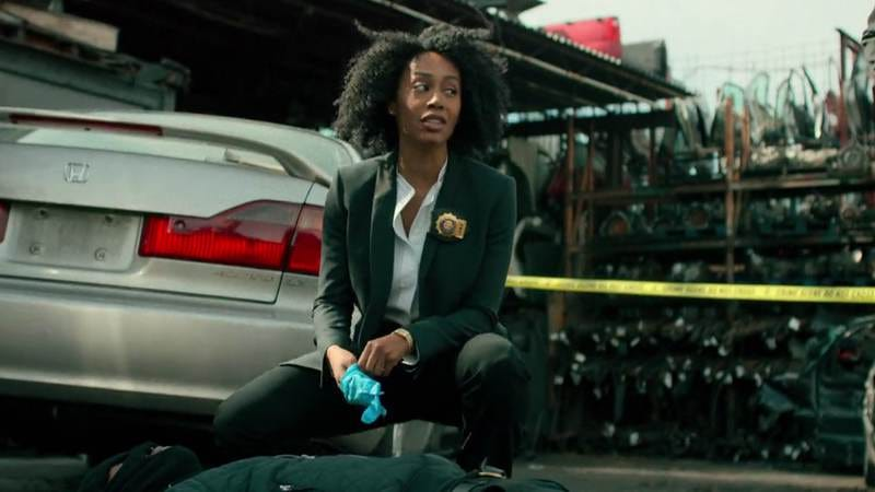 Simone Missick as Misty Knight, in Marvel's Luke Cage