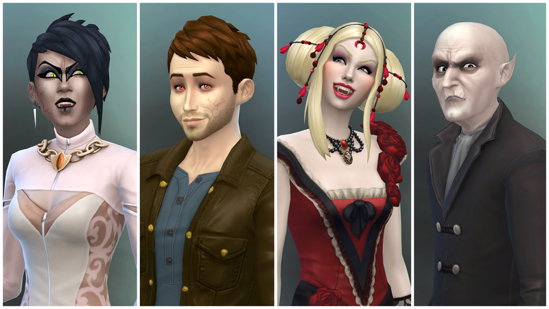 Illustration for article titled The Sims 4 Gets Vampires