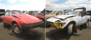 Illustration for article titled British Leyland Malaise Hangs Heavy Over This Junkyard