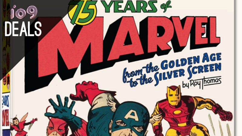 Illustration for article titled 75 Years of Marvel, Your Beautiful New Alarm Clock, and More Deals