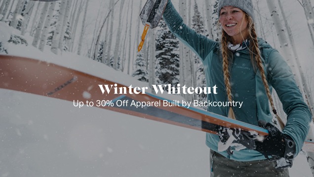 Save Up to 30% Off Gear and Apparel During Backcountry s Winter Whiteout Sale