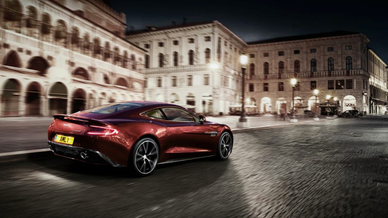 Illustration for article titled Would You Sleep In Your Car If It Was An Aston Martin Vanquish?