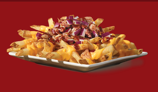 Illustration for article titled Wendy's Pulled Pork Cheese Fries Are The Saddest Meal