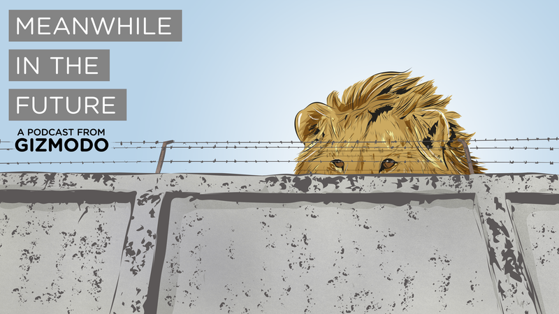 Illustration for article titled Meanwhile in the Future: Endangered Animals Live in Armored Zoos