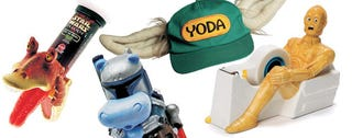 Illustration for article titled The Craziest Official Star Wars Stuff