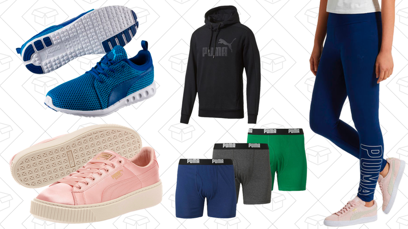 Up to 75% off select styles, plus free shipping, from PUMA with code PRIVATEOFFERS