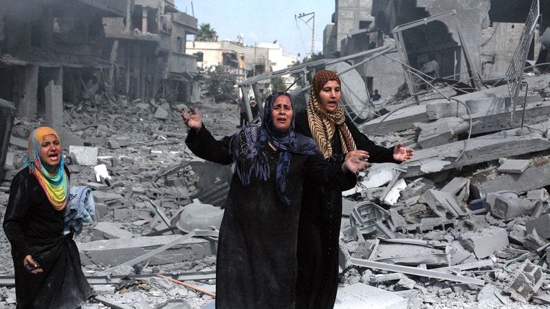 Illustration for article titled Experts Warn Situation In Gaza Will Get Worse Before It Gets Much Worse