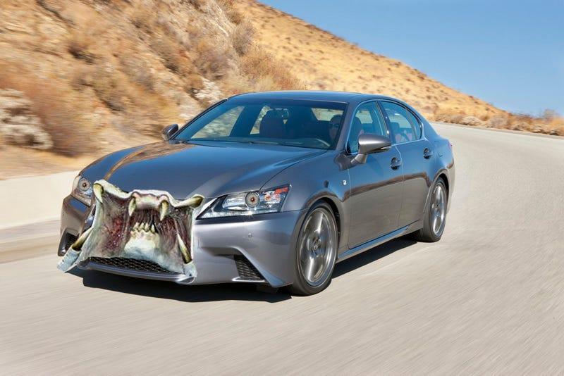 Lexus spindle grille conversion