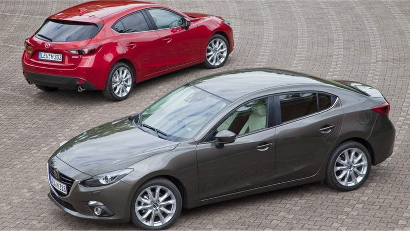 Illustration for article titled The 2014 Mazda3 Will Start At $16,945 And Get Kickass MPG