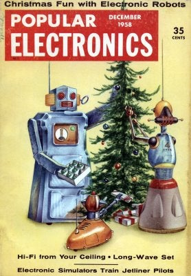 Illustration for article titled Robot Christmas (1958)