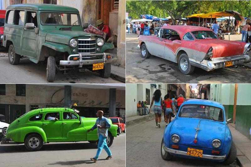 Illustration for article titled Even More Old Cars Down On The Cuban Street