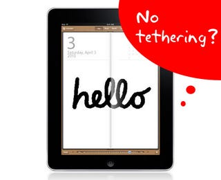 You Won't Be Able To Tether An iPad To An iPhone [Update: Not AT&T's