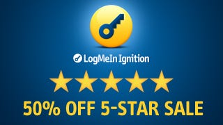 Illustration for article titled Get More Stars for Less Money! LogMeIn Ignition's 5-Star Sale