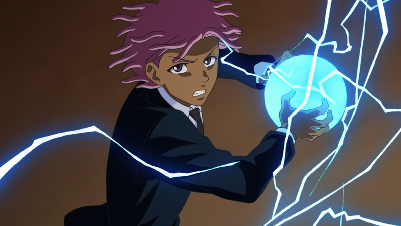 Illustration for article titled The First Trailer For Netflix Anime Parody Neo Yokio Showcases Its Bonkers Cast