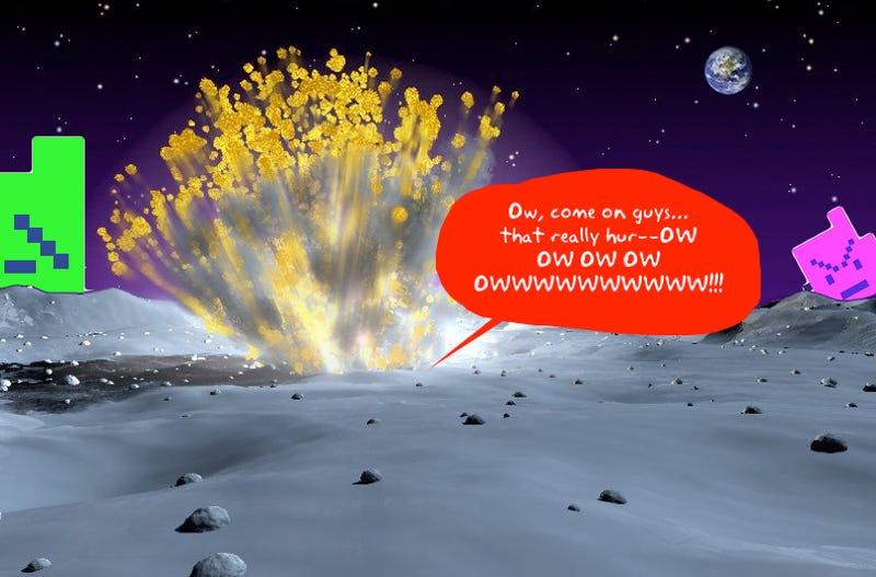 nasa rocket crashes paintings - photo #28