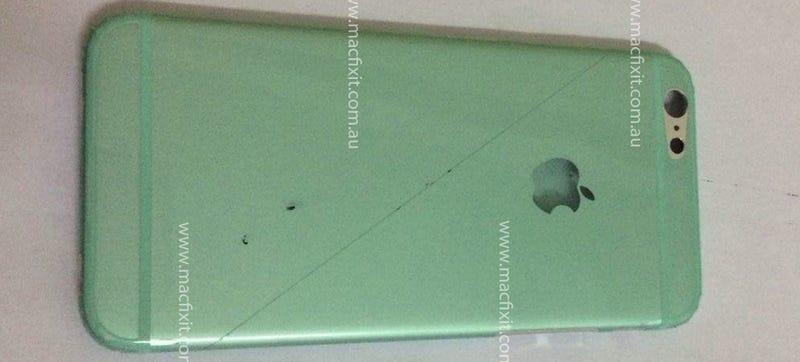 Illustration for article titled ¿Es esta la cubierta trasera del iPhone 6?