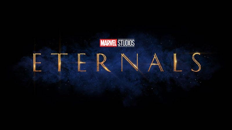 The Eternals es la próxima película de superheroes de Marvel.
