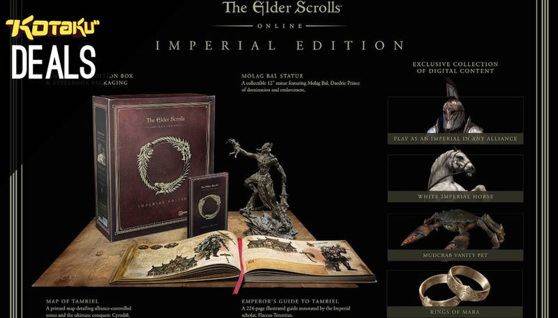 Illustration for article titled Elder Scrolls Online Imperial Edition, Futurama, New Humble [Deals]