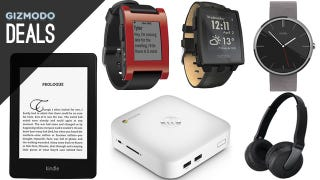 Illustration for article titled A Smart Watch of Your Choice, Kindle Paperwhite, Raspberry Pi [Deals]