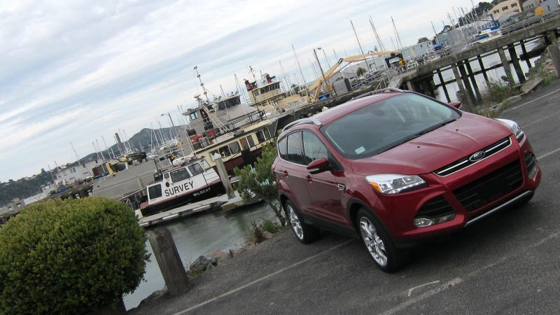 Illustration for article titled 2013 Ford Escape: Exterior Photos