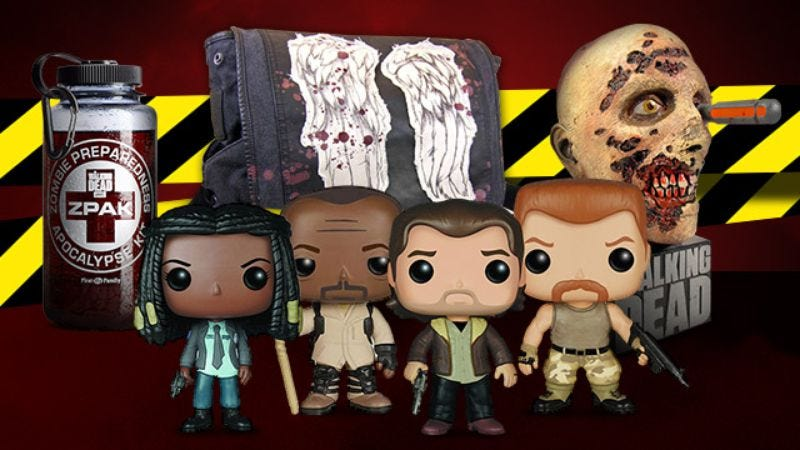 Illustration for article titled Enter to win this exclusive prize package celebrating the return of The Walking Dead