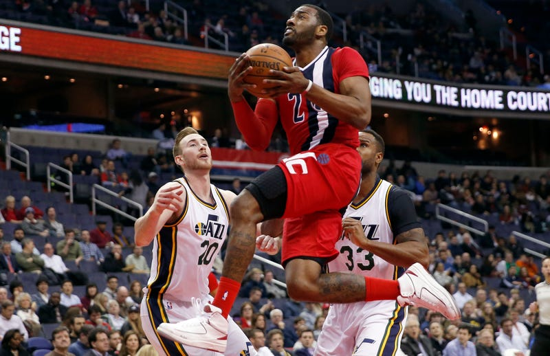 Illustration for article titled John Wall Has A Ridiculous Handle At Hyperspeed