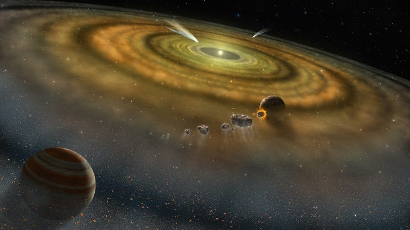 Illustration for article titled New galactic survey reveals relatively few stars have the right stuff to create life