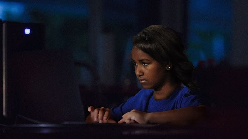 Illustration for article titled Sasha Obama Suspicious After Doing A Little Digging Around On Benghazi