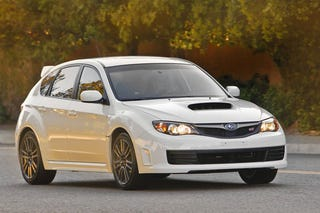 Illustration for article titled 2010 Subaru WRX STI Special Edition