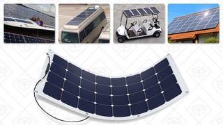 Panel solar Suaoki 100W | $100 | Amazon | Usa el código promocional L7V8AVBD