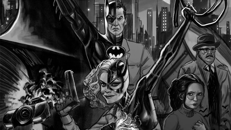 Illustration for article titled Behold the Batman '89Comic That DC Rejected Because They Hate Joy
