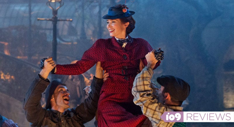 Emily Blunt makes Mary Poppins all her own in Mary Poppins Returns.