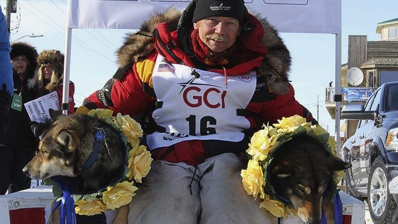 Oldest Iditarod Winner Sets A New Record Time