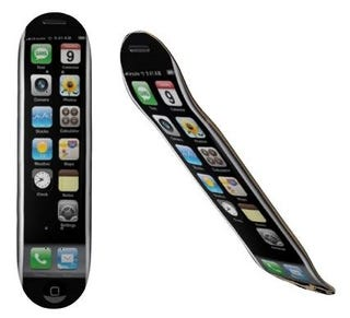 Illustration for article titled iPhone Skateboard Deck Cancels Out Any Coolness You've Aquired Being a Skateboarder